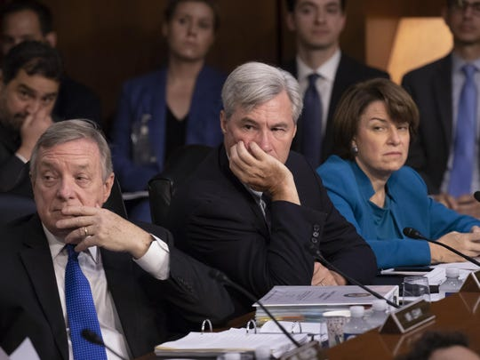 Dick Durbin, Sheldon Whitehouse, Amy Klobuchar