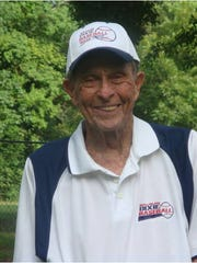 Bubba Brasher is shown on his 90th birthday two summers ago.