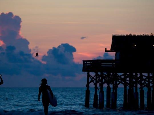 The second annual Salty Sweet Women's Pro/Am Surf Contest is happening Saturday at the Cocoa Beach Pier.