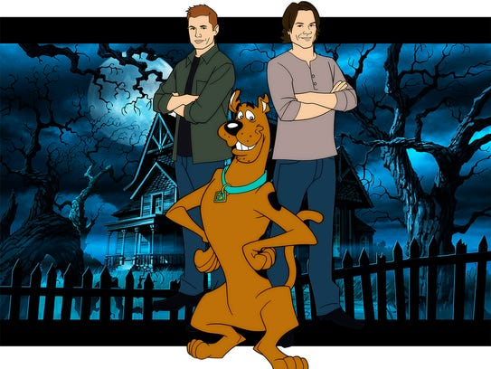 Sam and Dean team up with Scooby-Doo in an animated