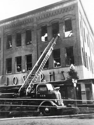 Joseph's Department Store fire, 1948.