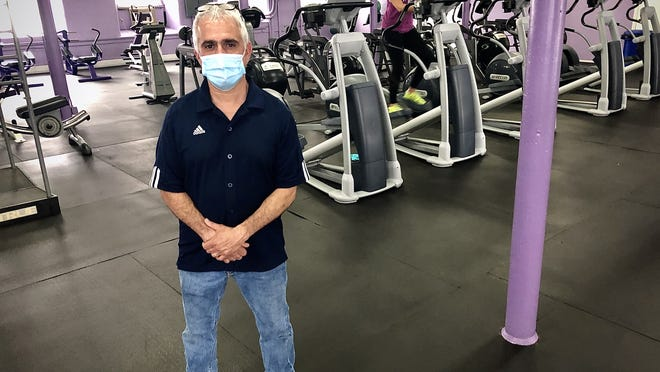 Scott Fastino, owner of General Fitness in Fall River, says he's relieved that his business can reopen after being closed for three and a half months as result of COVID-19 restrictions.  Herald News photo by Charles Winokoor