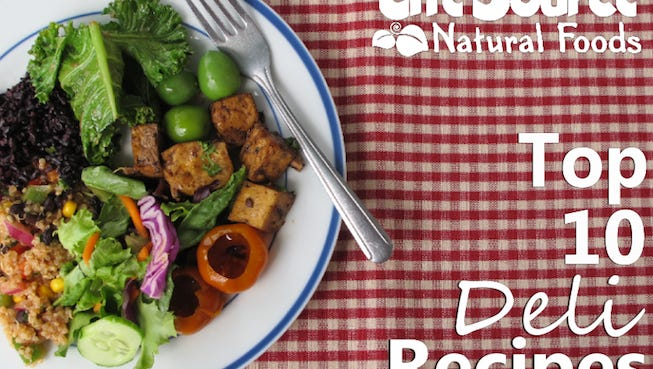 Join LifeSource's mailing list and receive a free copy of the top 10 deli recipes.