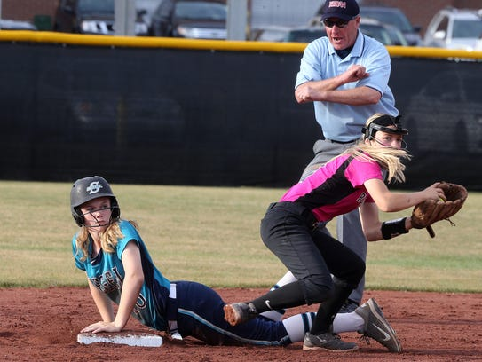 Siegel's Caitlyn McCrary hit .373 with seven home runs,