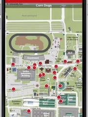 Download the Des Moines Register Iowa State Fair Food Finder app.