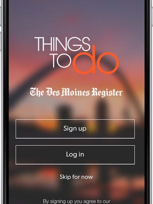 The Things To Do app.