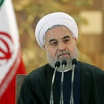 Iranian President Hassan Rouhani attends a news conference in Tehran, Iran, on Jan. 17, 2016.