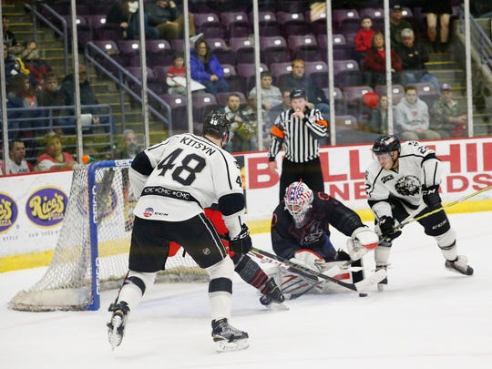 The Elmira Jackals opened their Star Wars Weekend on Dec. 11 against the Manchester Monarchs.