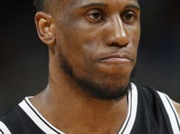 Brooklyn Nets' Thaddeus Young in action during an NBA basketball game against the Philadelphia 76ers, Friday, March 11, 2016, in Philadelphia. (AP Photo/Matt Slocum)