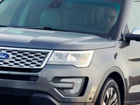 Ford unveiled the 2016 Explorer Tuesday and will exhibit it at the Los Angeles auto show. A new Platinum model, $50,000-plus, is shown