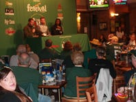 Cornerback Davon House (right) was the guest on Clubhouse Live on Monday with co-hosts John Kuhn (center) and Brett Christopherson.