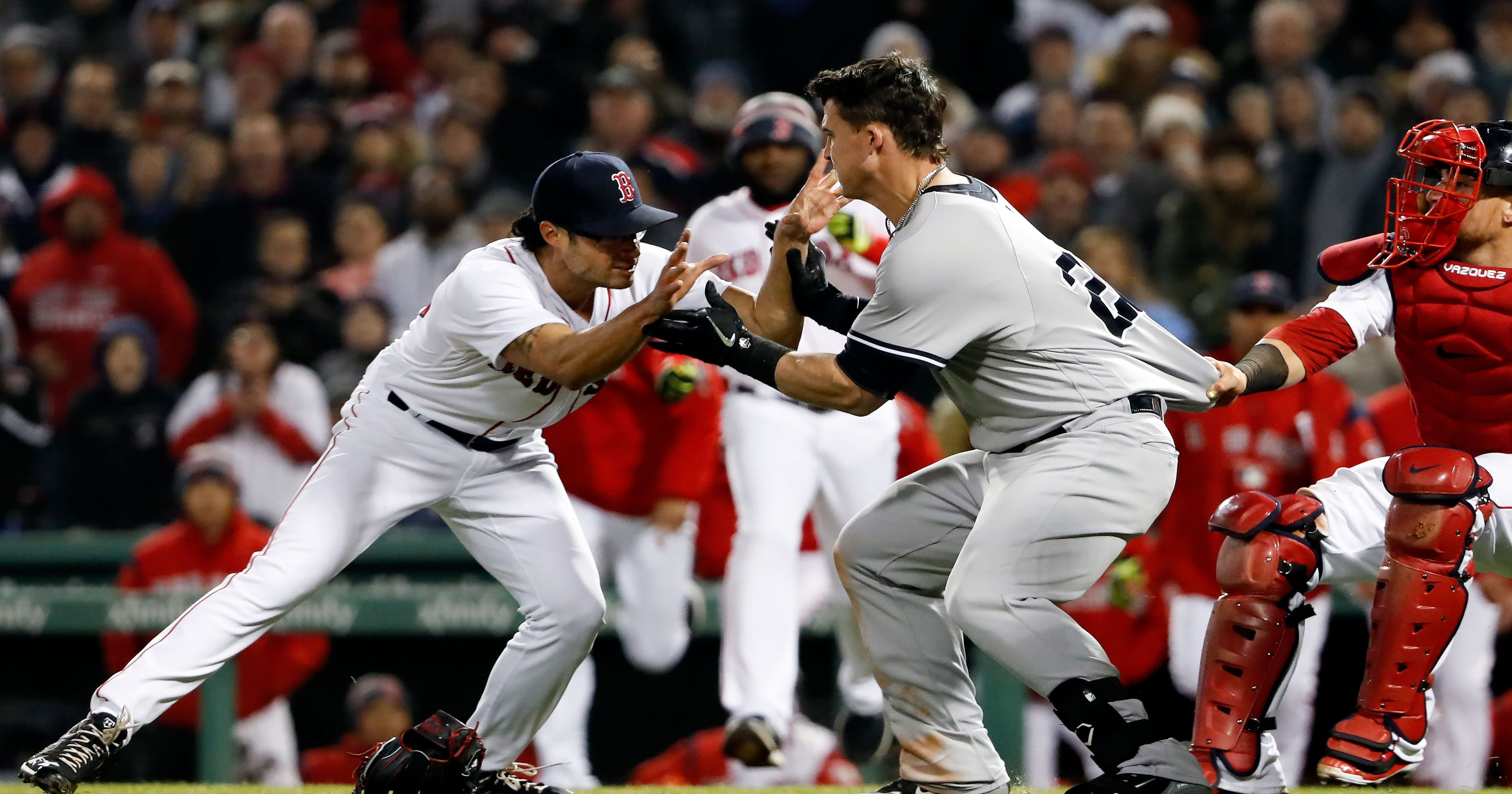 yankees red sox brawl bad blood on the field but plenty to love