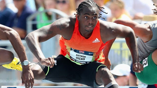 Former Ole Miss athlete Antwon Hicks will compete for Nigeria in the Olympic Games.