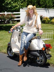 Style Files candidate Marian Passero in Bethany Beach.