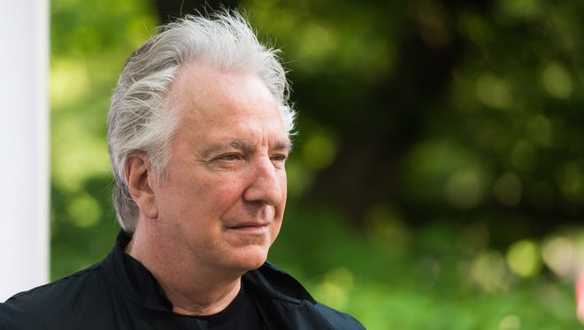 """British actor Alan Rickman, whose career ranged from Britain's Royal Shakespeare Company to the """"Harry Potter"""" films, has died. He was 69.  Rickman's family said Thursday that the actor had died after a battle with cancer."""