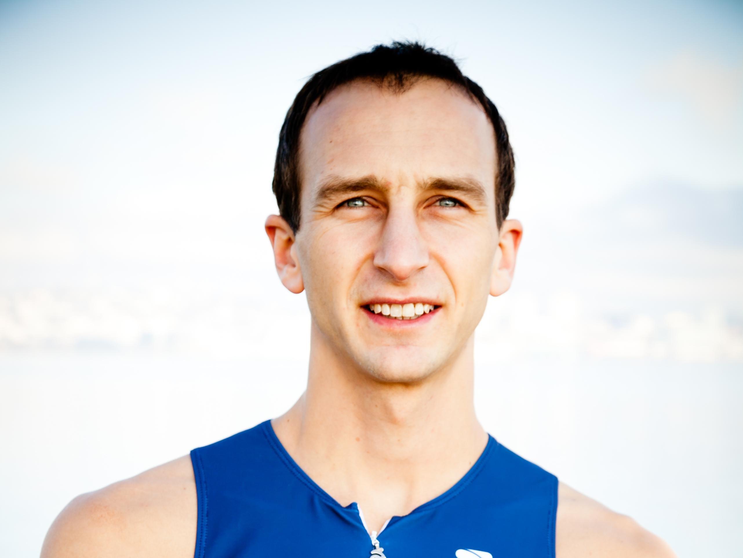Aaron Scheidies in an international champion Paralympic triathlete.