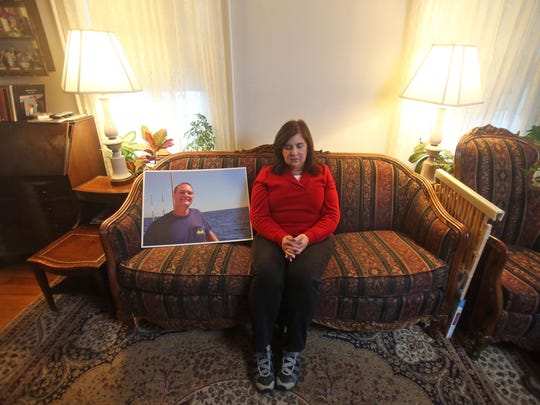 Barbara Skiba, whose son Michael, died of a heroin