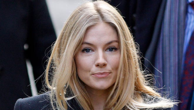 Actress Sienna Miller, here in 2011, testified at a tabloid phone-hacking trial about how journalists got it wrong when she hacked her voicemail.