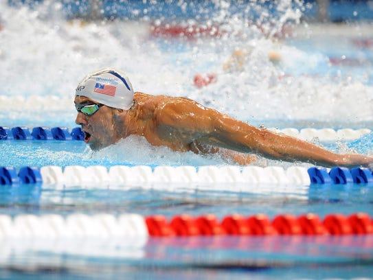 Michael Phelps se alista para participar en Rio 2016.