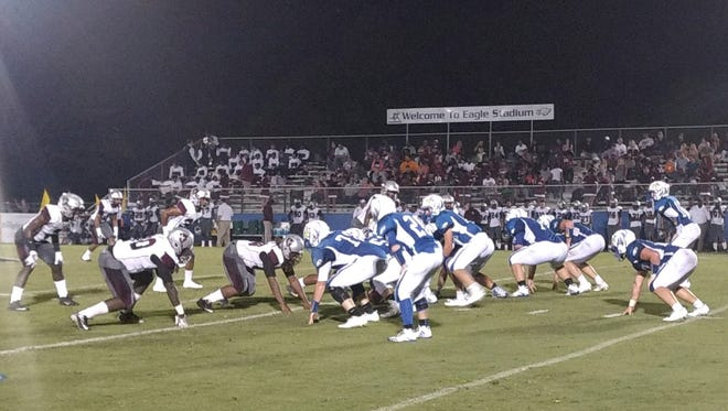 Chester County beat Liberty 25-20 during Week 5.