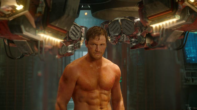 "A long way from Pawnee: Chris Pratt in ""Guardians of the Galaxy."""