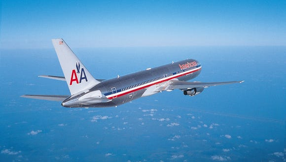 A file photo of an American Airlines Boeing 767 aircraft.
