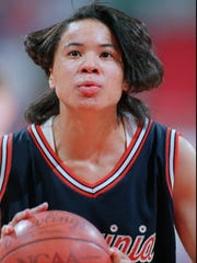 Dawn Staley helped Virginia to three Final Fours and