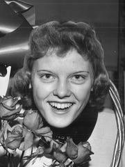 Carolyn Nicholson in 1956.