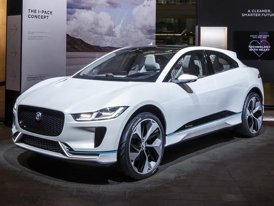 Jaguar's I-Pace, whose price starts at $69,500 before