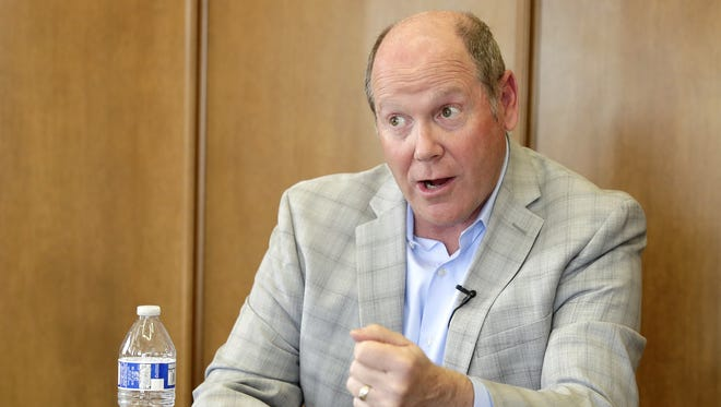 Former U.S. Rep. Reid Ribble talks with the Green Bay Press-Gazette about issues facing the Republican Party.