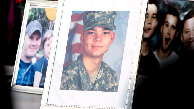 A vigil was held Sunday in Morrow to honor Aaron Berns and other veterans struggling with PTSD. Berns went missing after he jumped into the Little Miami River on New Year's Day. His body was found Saturday down river near a Loveland park.