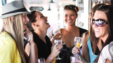 Drinking wine and shopping? Leave your credit cards at home
