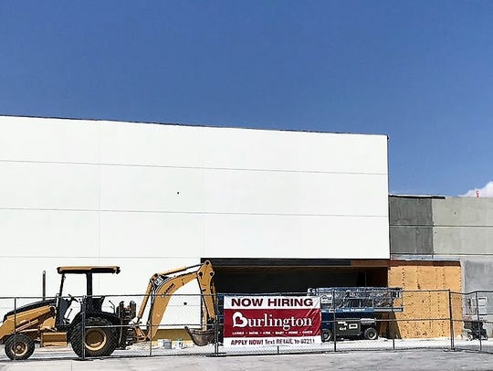 Burlington Coat Factory's new store is under construction