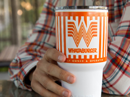 Whataburger YETI tumbler.