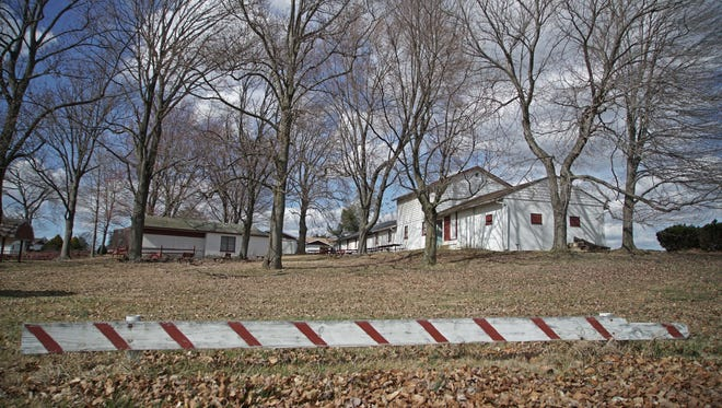 The land of where the former Our Lady of Grace Home for orphans was located on East Chestnut Hill Road in Ogletown.