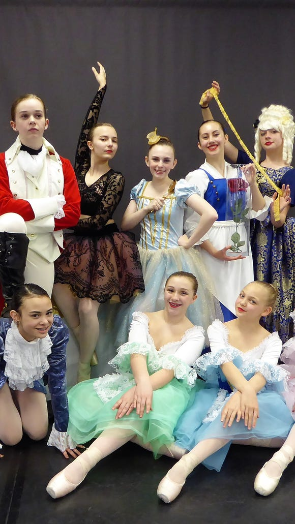 "Academy of Dance students perform the ""Beauty and the Beast"" ballet June 16 and 17 at  South Kitsap High School."