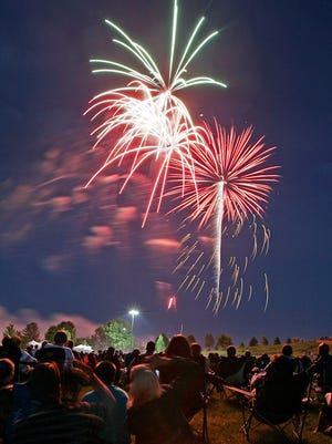 Fireworks will take place throughout the region over the next two evenings. Some communities will do the honors tonight while others will follow suit on Friday.