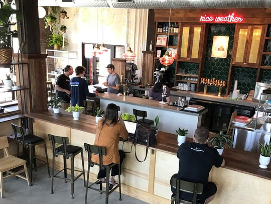 Big windows brighten Provider, a coffee bar that opened