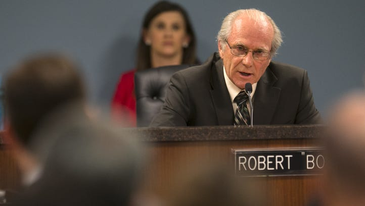 Utility regulator Robert Burns on Thursday issued subpoenas