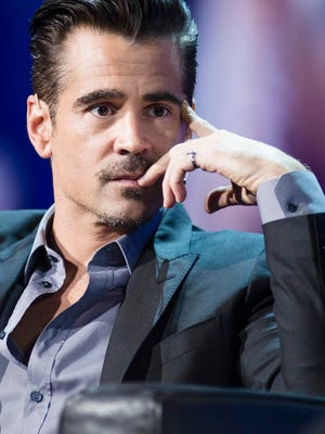 """""""It was very liberating to play a character that didn't have an emotional life,"""" says Colin Farrell, shown in London on May 12, 2016, about his role in """"The Lobster."""""""