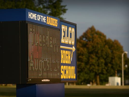 635824230356538211-LDN-MKD-110615-Elco-high-school-sign-1