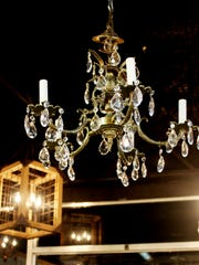 Chandeliers can be used as a focal, starting point