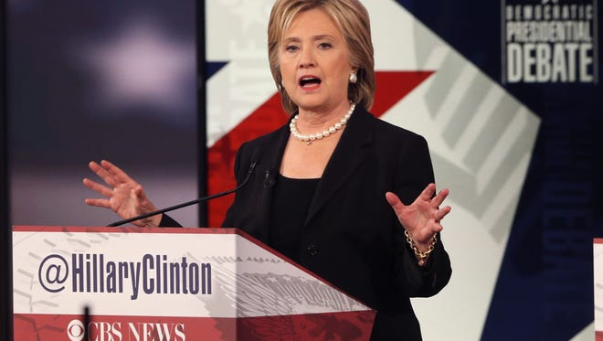 Hillary Clinton, the 2016 Democratic presidential candidate
