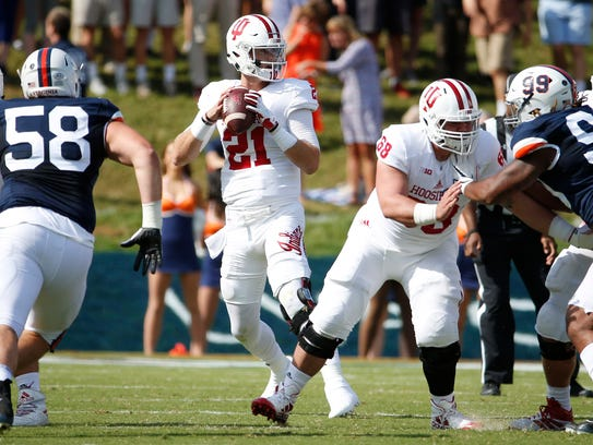 Richard Lagow finished last season second in the Big
