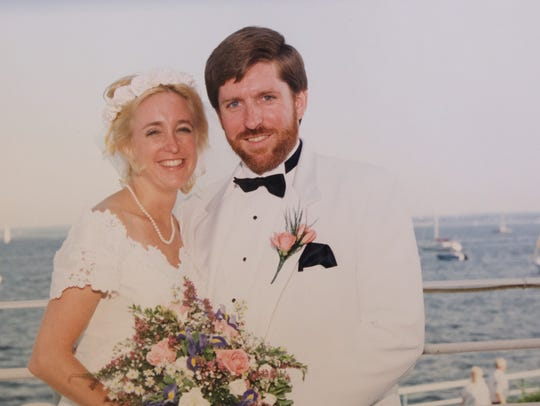 Jane and James Clarke have been married 24 years.