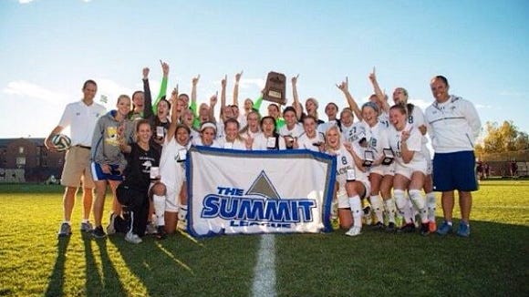 SDSU is headed to the NCAA Division I women's soccer tournament for the second time.