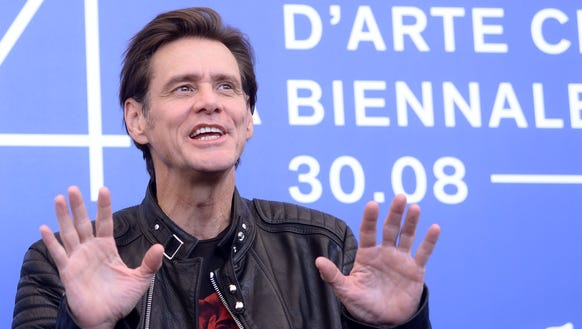 """Jim Carrey attends the photocall of the movie """"Jim"""