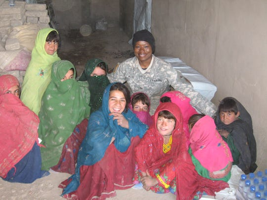 In Afghanistan, Nancy Lachapelle (not pictured) of
