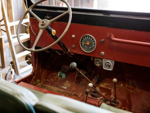 president reagan 39 s jeep goes on display. Black Bedroom Furniture Sets. Home Design Ideas