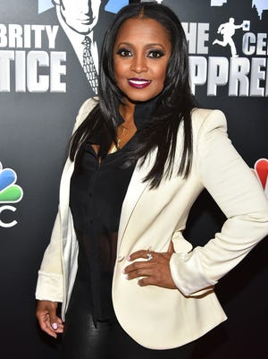 """Keshia Knight Pulliam attends the """"Celebrity Apprentice"""" red carpet event at Trump Tower on Jan. 5, 2015 in New York City."""